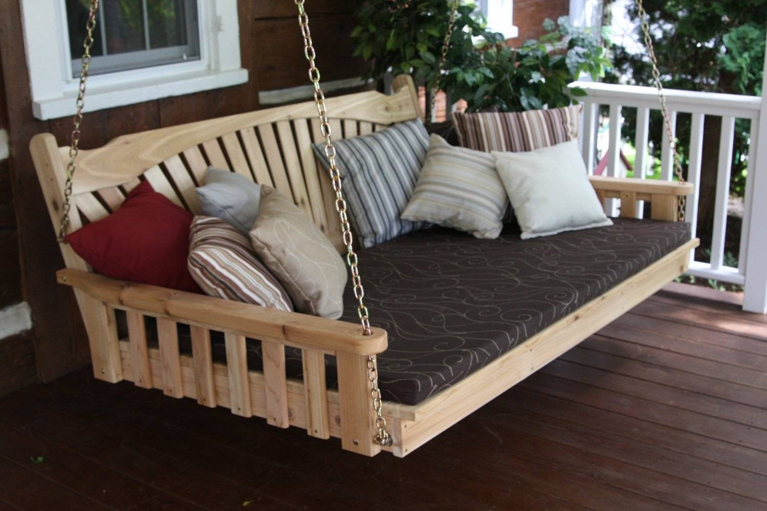 8 Super Comfy Porch Swing Bed Designs - PerfectPorchSwing.com