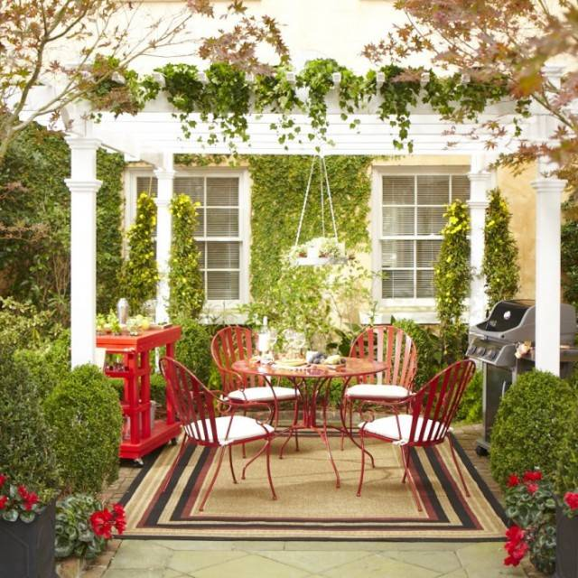 adding some greenery to your patio