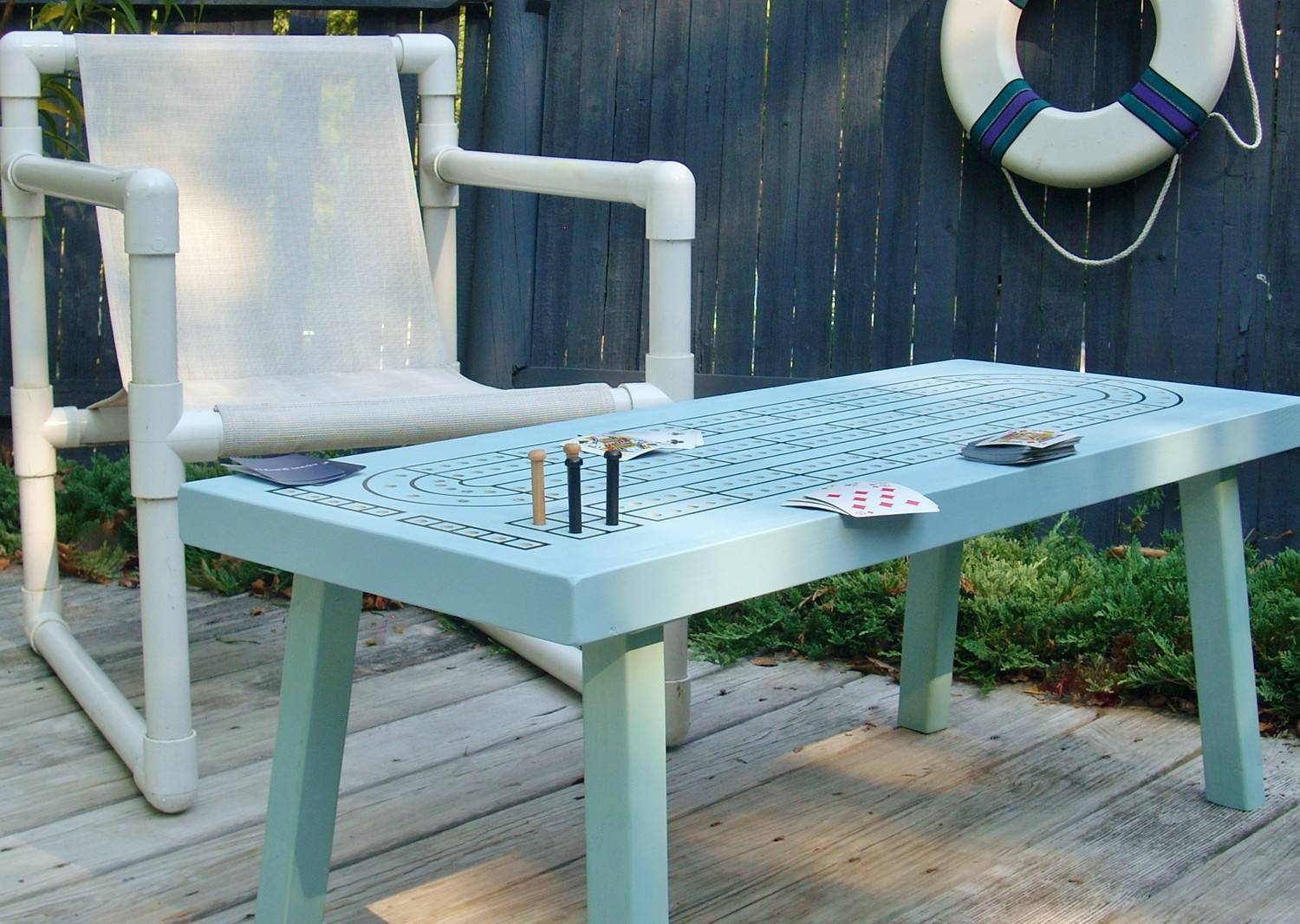 building an inexpensive gaming table