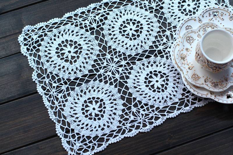 Brighten up your home with placemats and coasters