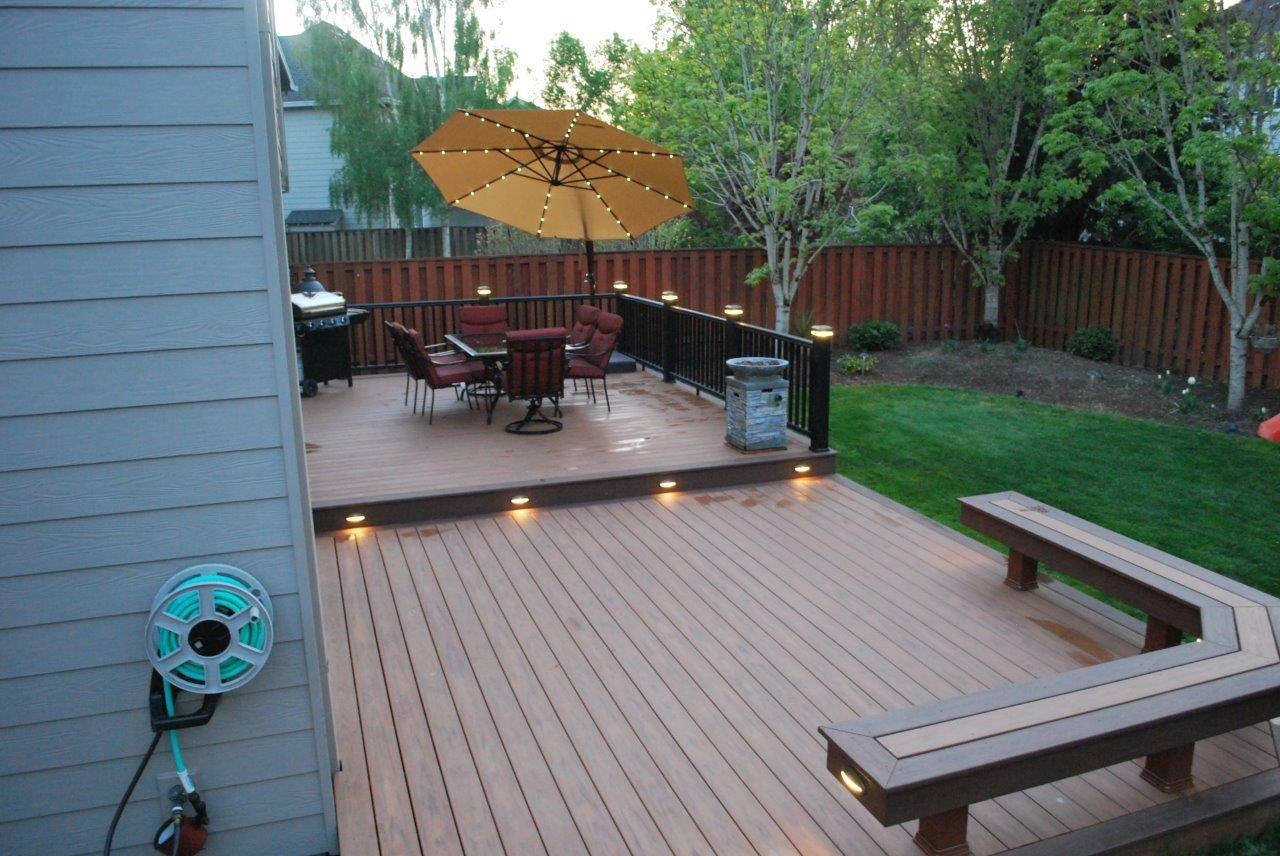Affordable Porch Decor Ideas: A Cheapskate's Guide on Patio With Deck Ideas id=11968