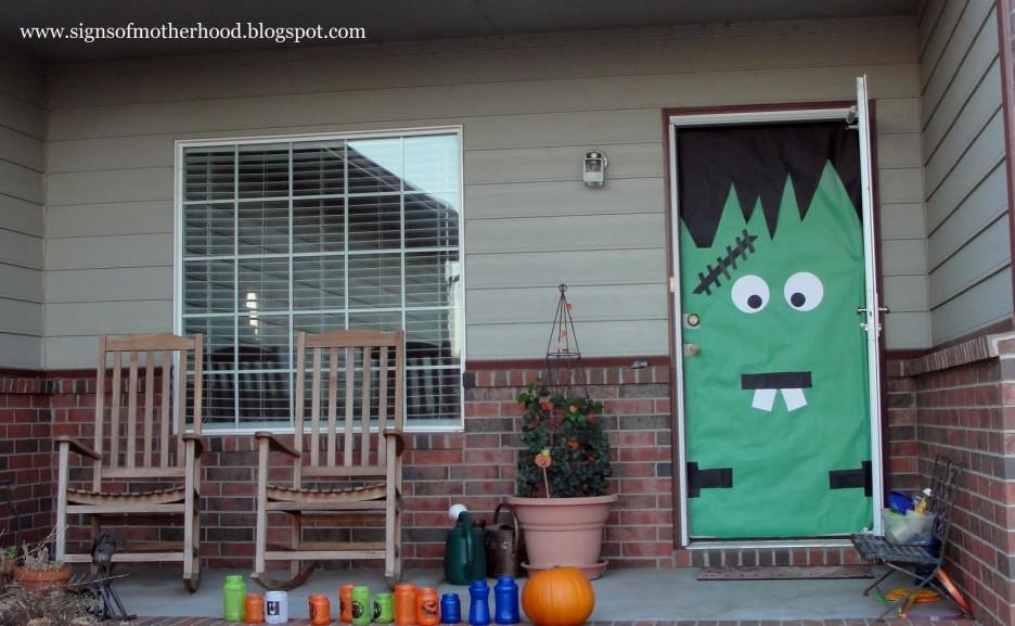 Frankenstein S Front Door Outdoor Decorations & Frankenstein Front Door Decoration | Iron Blog pezcame.com