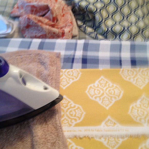 how to make your own curtains without sewing
