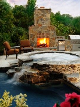 Jacuzzi by the Deck ideas