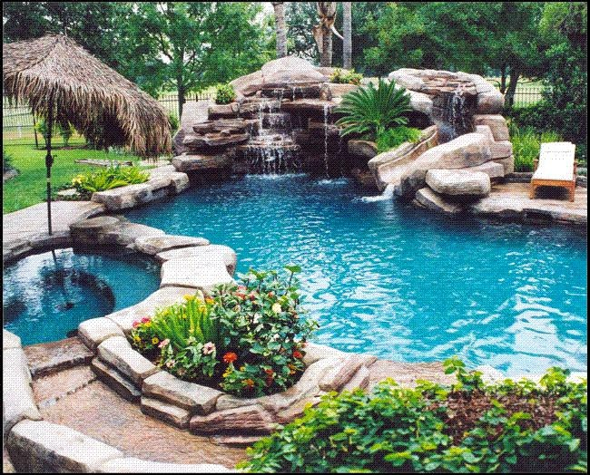 Pool-and-Patio-in-One Ideas
