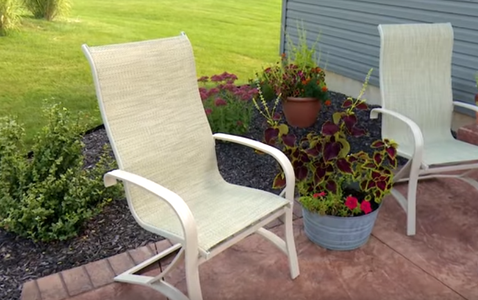5 Best Replacement Slings For Patio Sling Style Furniture